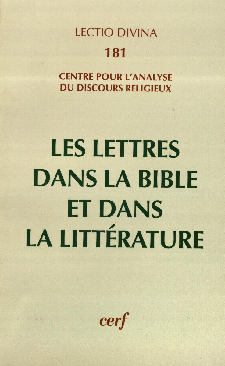 Les lettres dans la bible et dans la literature. Paris, 1999.<br /> <br />