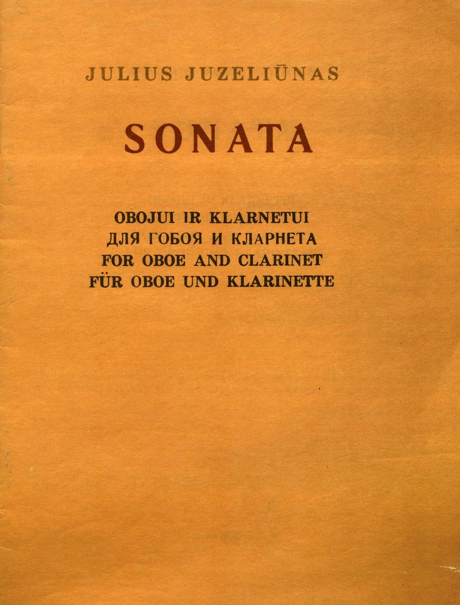 Sonata obojui ir klarnetui