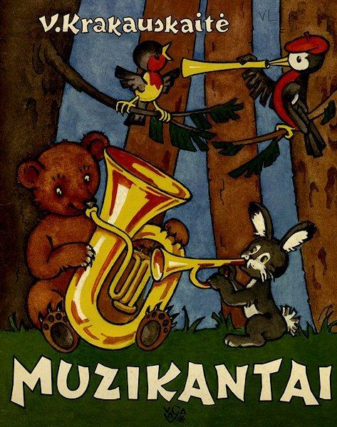 Krakauskaitė, V. Muzikantai.  Vilnius : Vaga, 2007. 21  p.