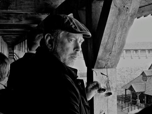 Rašytojas H. Kunčius. 2015 m.