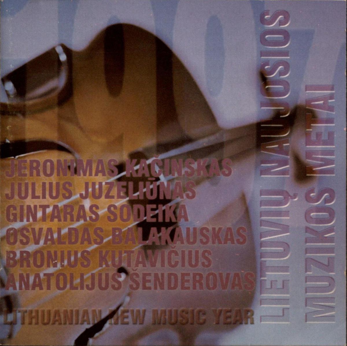 Lietuvių naujosios muzikos metai. 1997 [Garso įrašas]