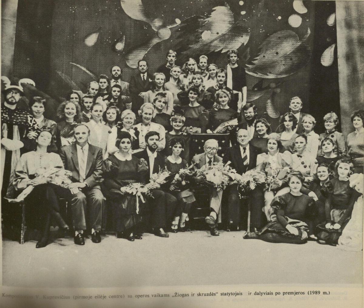 Kauno valstybinis muzikinis teatras, 1990 m.