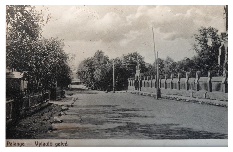 Vytauto gatvė, Palanga, apie 1923–1924 m.