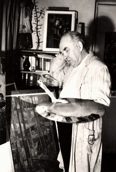 Algirdas Petrulis studijoje