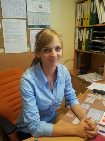 Dekanės padėjėja Agnė Janušaitytė.