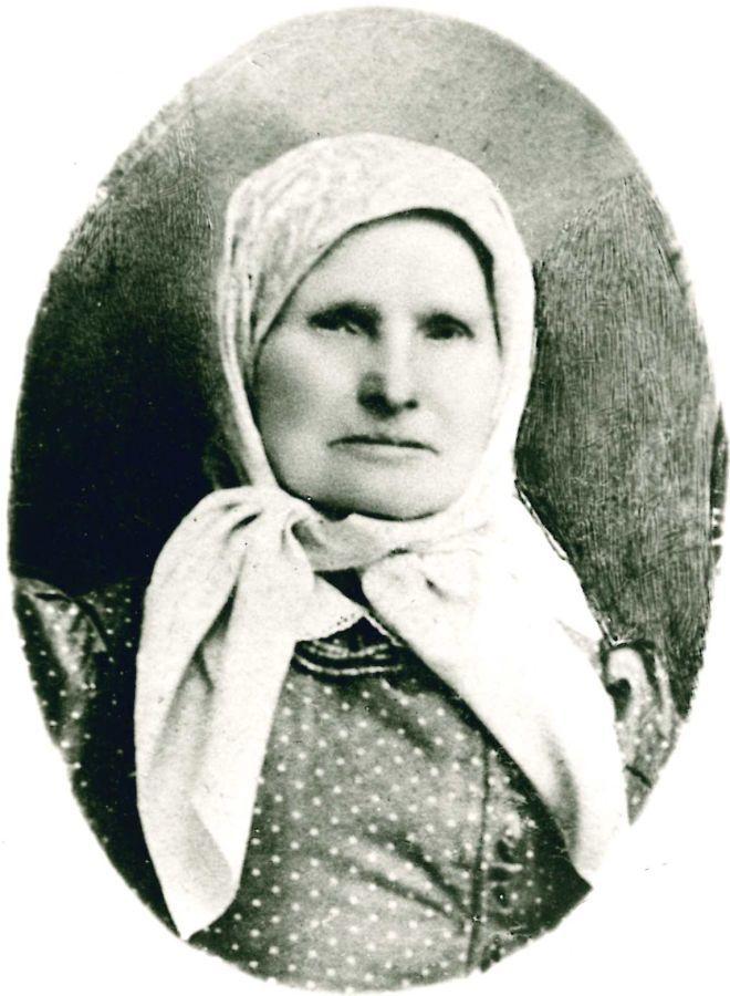 K. Griniaus mama Ona Vosyliūtė-Griniuvienė (1839–1919). 1890 m.