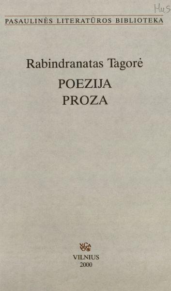Poezija; Proza.