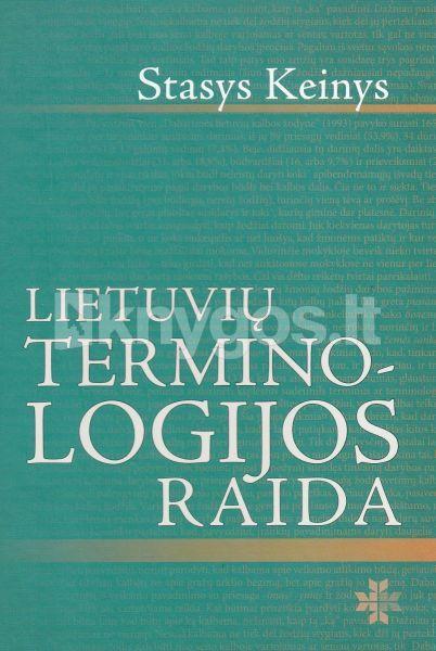 Lietuvių terminologijos raida.