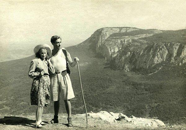 Povestuvinė kelionė. Krymas. 1951