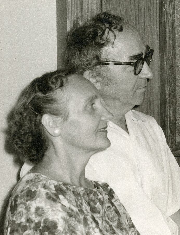 Bernardas ir Aldona Brazdžioniai, Los Andželas, 1963 m.