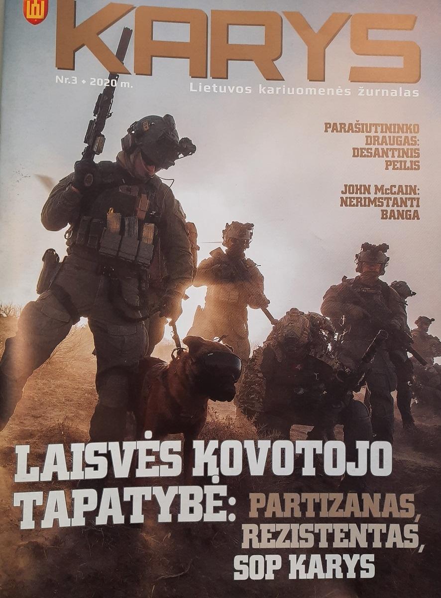 """""""Kario"""" žurnalas leidžiamas iki šiol, 2020 m., Nr. 3"""