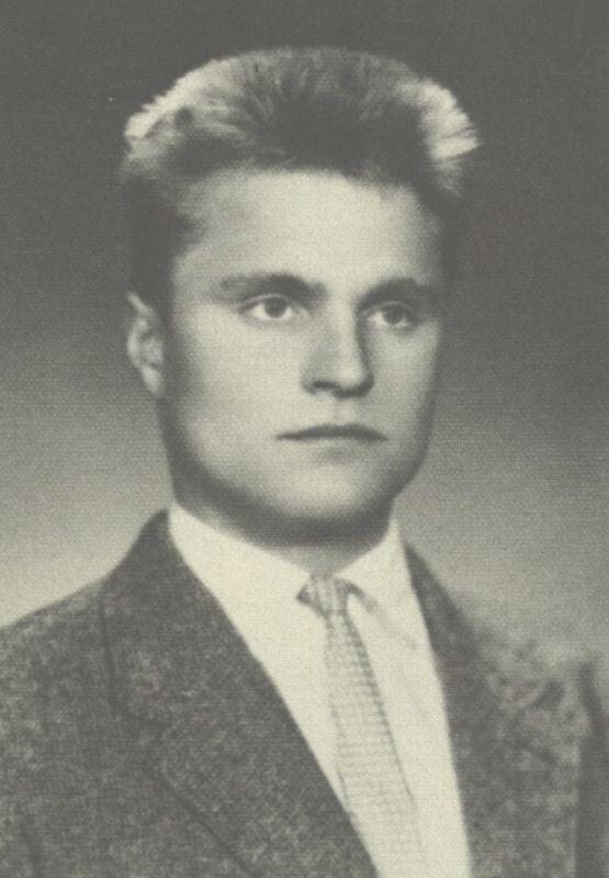 Bronius Radzevičius. 1962 m.