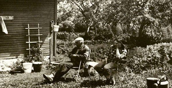 Su dukra Daiva Kirdeikiuose. 1987