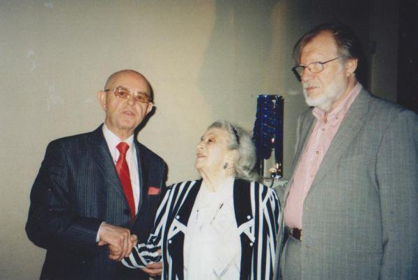 LR kultūros atašė Rusijoje J. Budraitis LR ambasadoje Maskvoje. 2009 m.