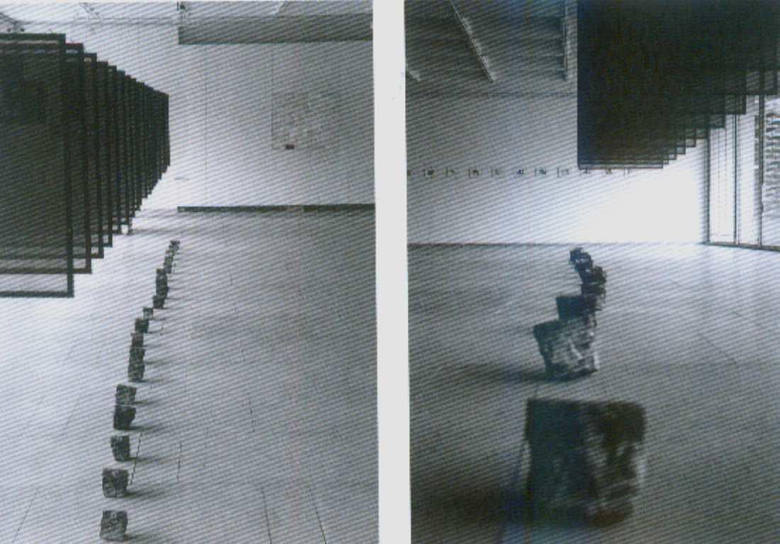 E. A. Cukermano kūrinių paroda Vilniaus šiuolaikinio meno centre, 1998