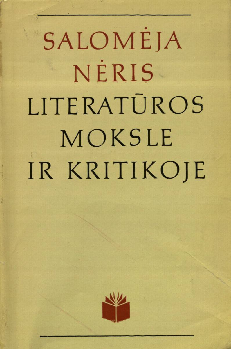 Salomėja Nėris literatūros moksle ir kritikoje. Vilnius, 1981.