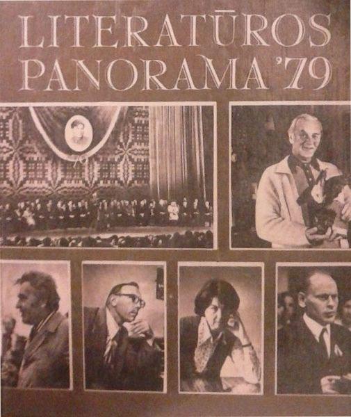 Guščius A. Priekyje – romanas // Literatūros panorama'79. Vilnius: Vaga, 1980, p. 28–29.