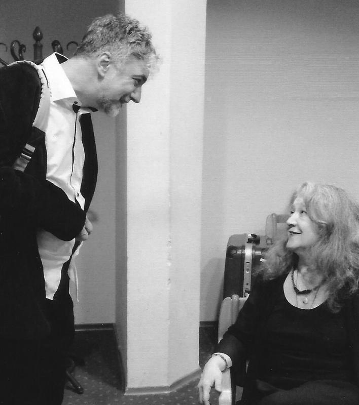 Petras Geniušas ir Martha Argerich. 2014 m.
