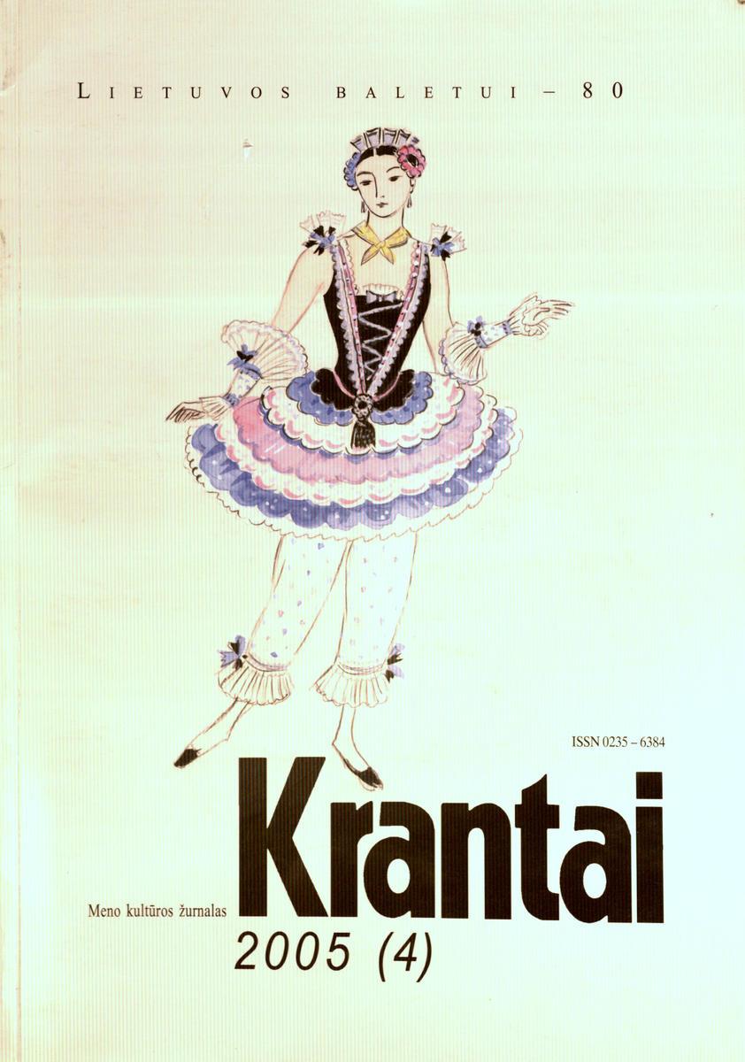 Krantai : meno kultūros žurnalas. - 2005, Nr. 4