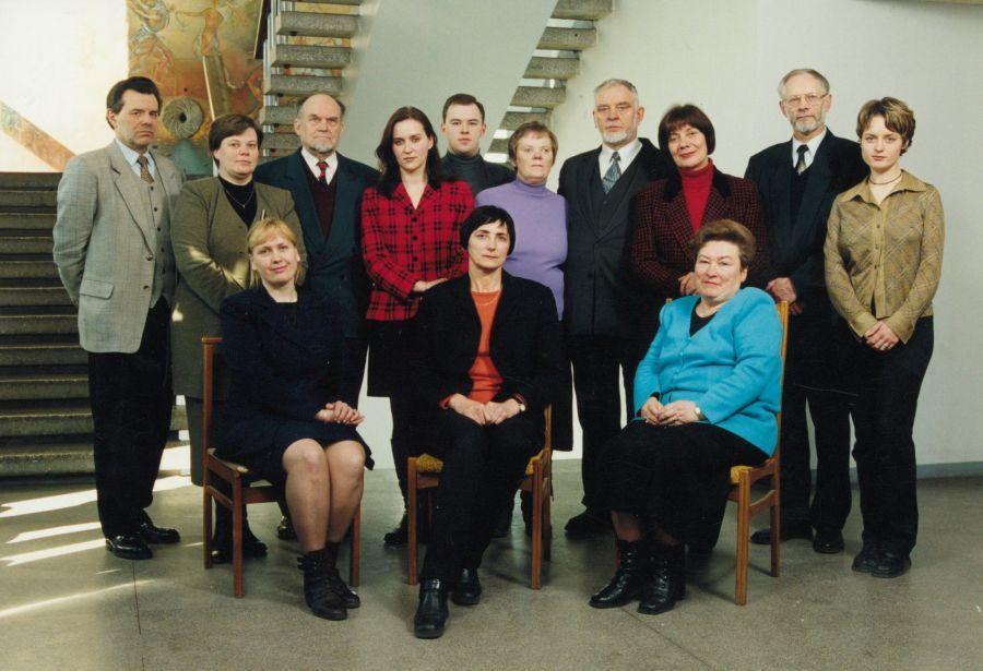 Lituanistikos fakulteto taryba. 2000 m.