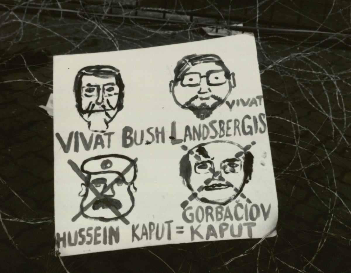 Karikatūros ant barikadų