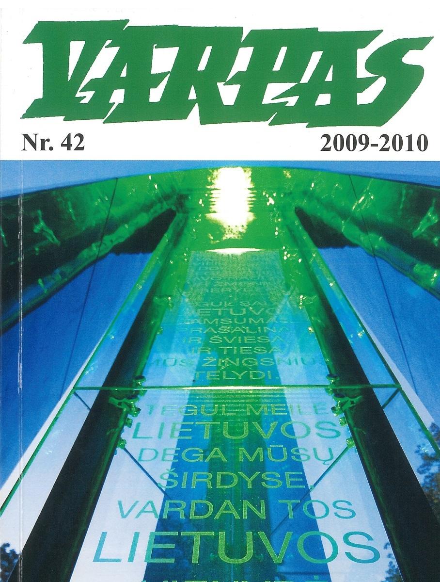 """Lietuvoje leisto """"Varpo"""" viršelis, 2009–2010 m., Nr. 42"""