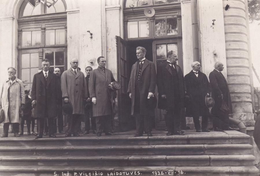Inžinieriaus Petro Vileišio laidotuvės. Kaunas, 1926 m. birželio 16 d.