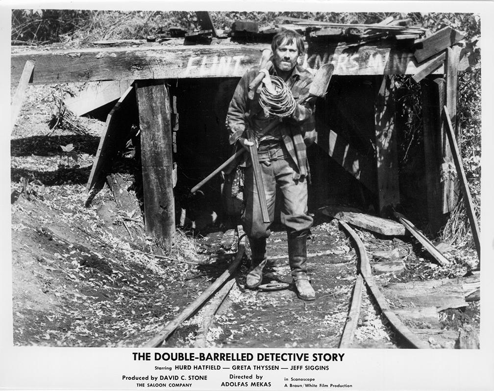 """The Double-barrelled detective story"" (""Dvivamzdė detektyvinė istorija"") filmo fragmentas. 1965 m."