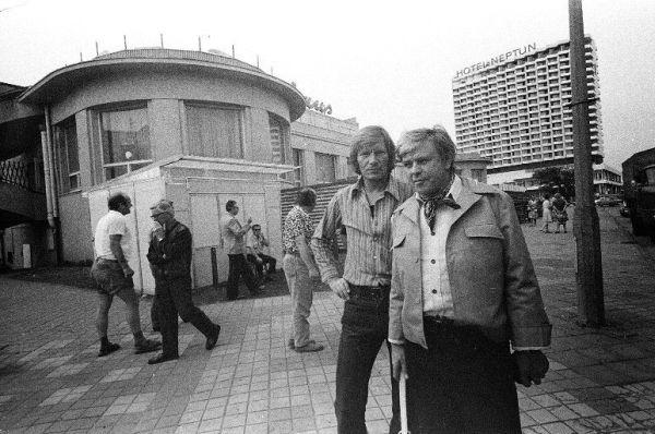 Su aktoriumi D. Banioniu Berlyne. 1982 m.