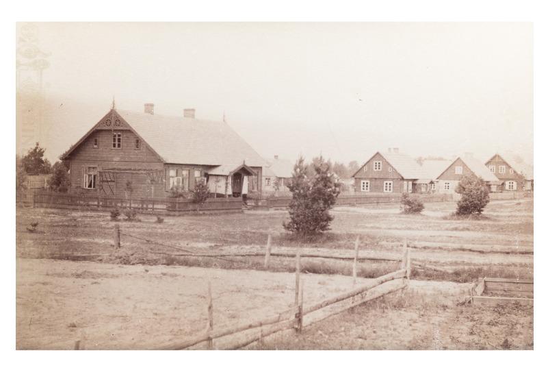 Jūros gatvė, Palanga, 1893 m.