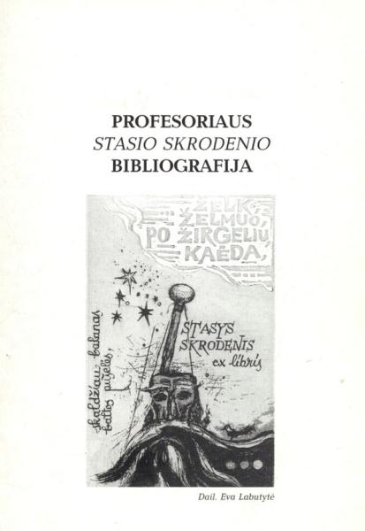Profesoriaus Stasio Skrodenio bibliografija.