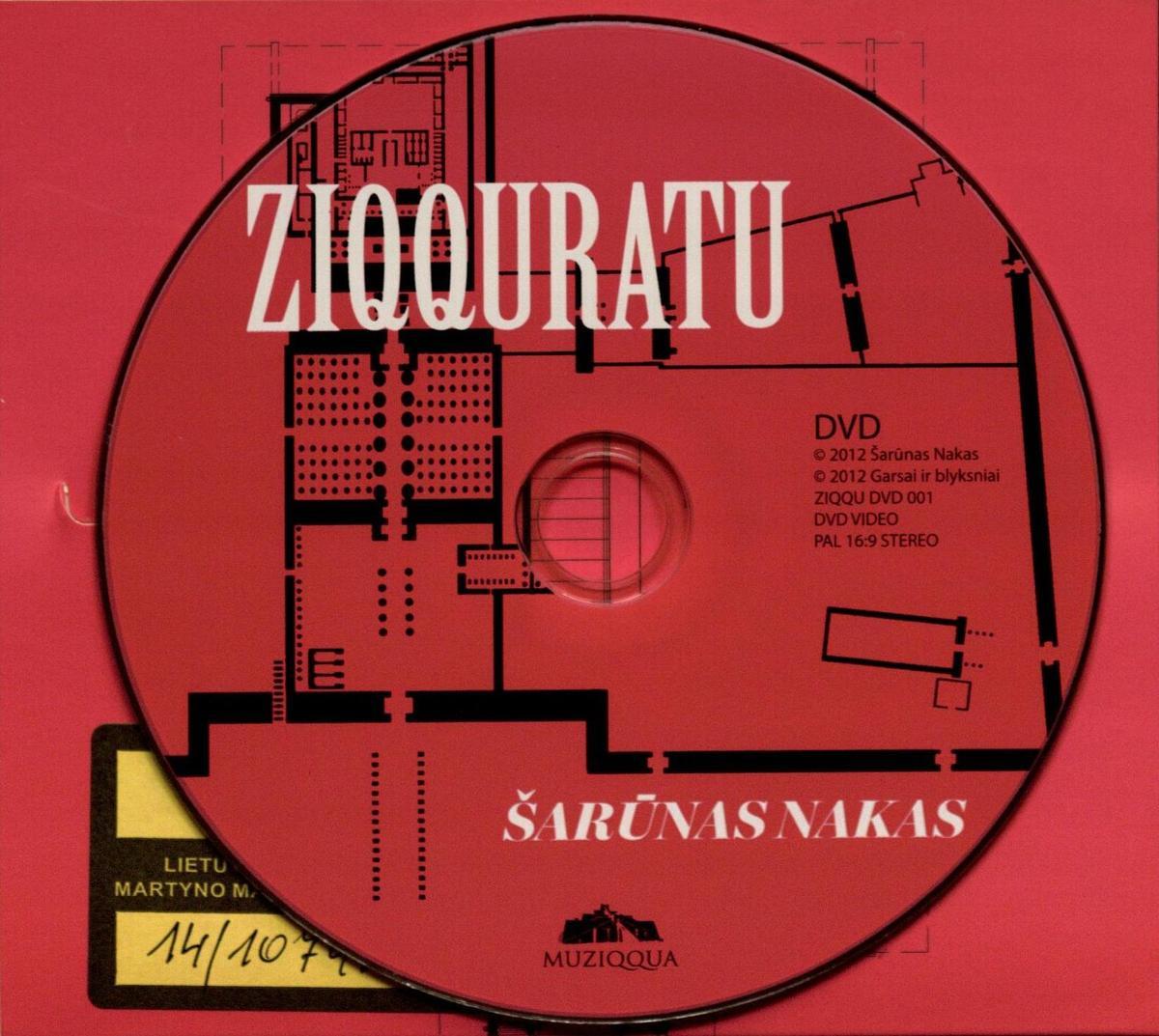 Ziqquratu [Komplektas] : elektroninė muzika ir multimedijos darbai