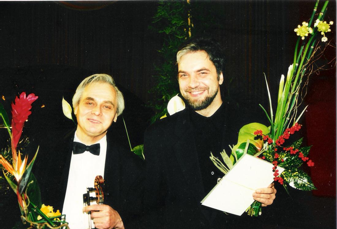 R. Katilius ir P. Geniušas