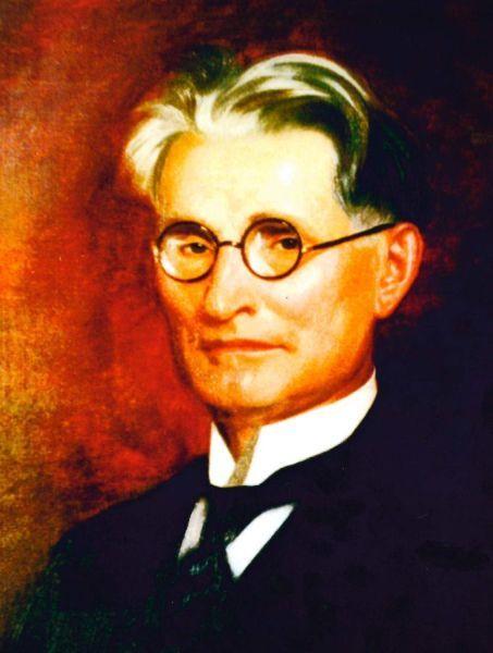 K. Griniaus portretas. Dailininkas – Jozefas Senei (József Senyei). 1934 m.