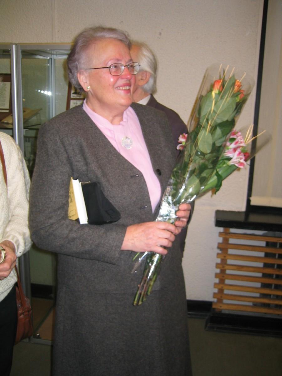 Rašytojo dukra dr. Eglė Borutaitė-Makariūnienė