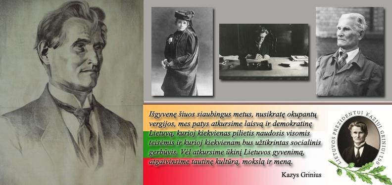 Kazio Griniaus biografija.