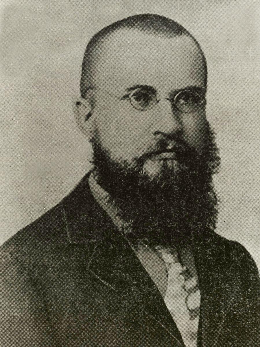 J. Šliūpas Baltimorejė (Maryland). 1897 m.