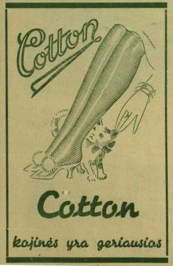 """""""Šventėms, vakarui ir šokiams kojinės """"Coton""""..."""""""