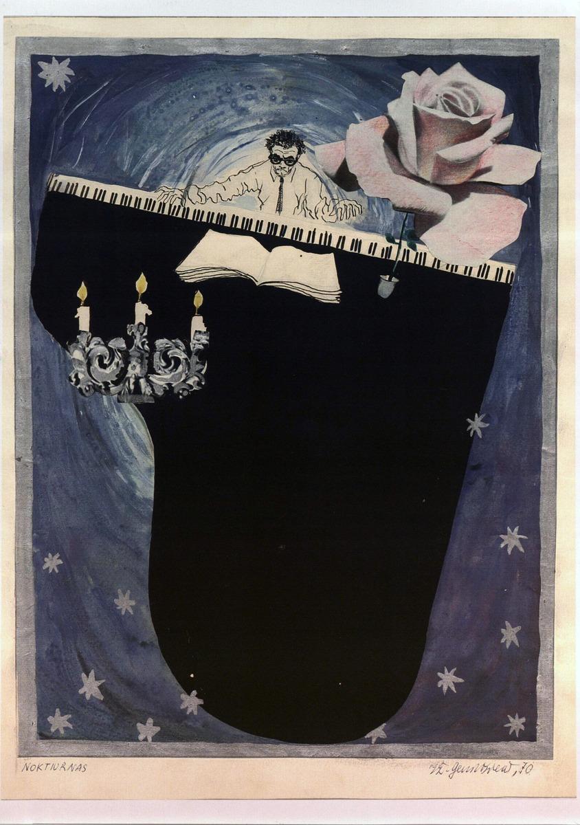 """""""Noktiurnas"""". 1970 m."""