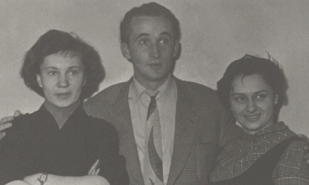 V. Žalakevičius Maskvos Sąjunginio kinematografijos instituto vakarėlyje.