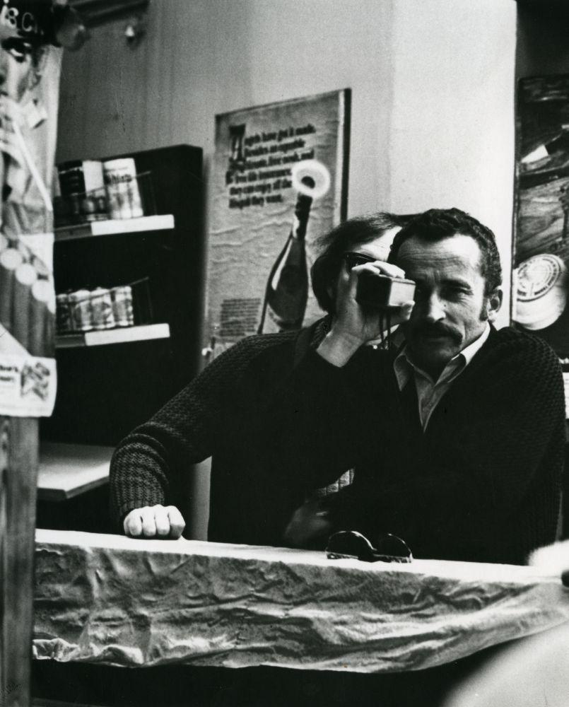 """V. Žalakevičius """"Tas saldus žodis – laisvė!"""" filmavimo Čilėje metu. Apie 1972 m."""