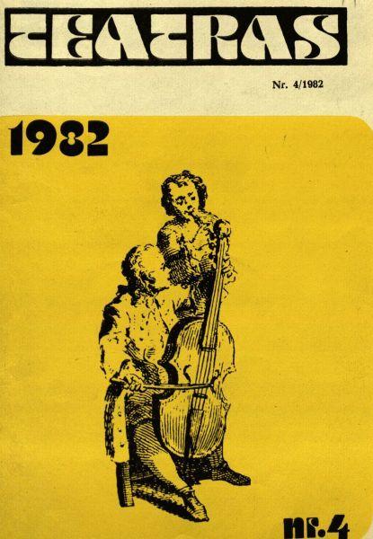 Juozas Budraitis: [nuotrauka] // Teatras. 1982, nr. 4, p. 19.
