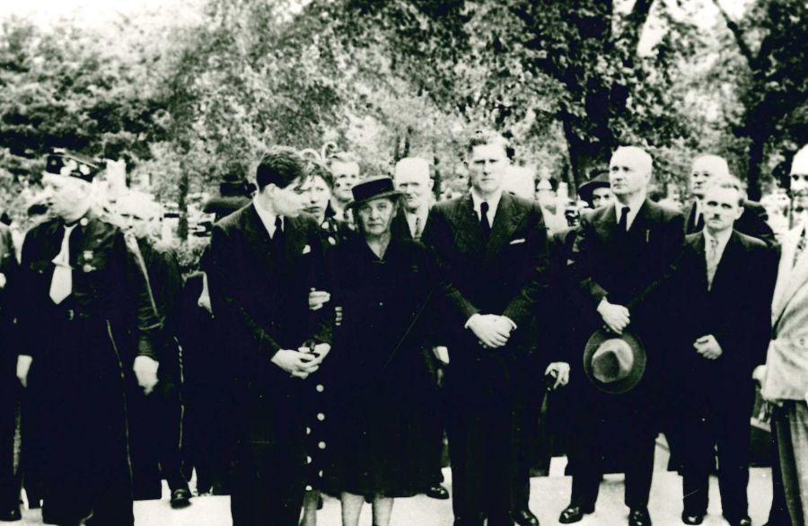 K. Griniaus laidotuvės. Čikaga (JAV), 1950 m. birželio 8 d.