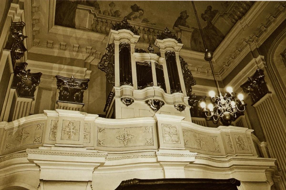 Vilniaus Šventų Jonų bažnyčios Oginskių (Dievo Kūno) koplyčios vargonai