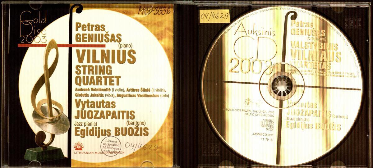 Auksinis CD. 2003 [Garso įrašas]