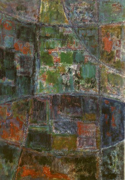 K.6. (1986?)  Kartonas, aliejus