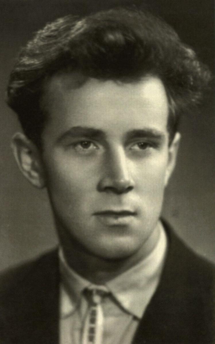 Eugenijus Ignatavičius – Lietuvos valstybinės konservatorijos (dabar Teatro ir muzikos akademija) studentas. 1960 m.