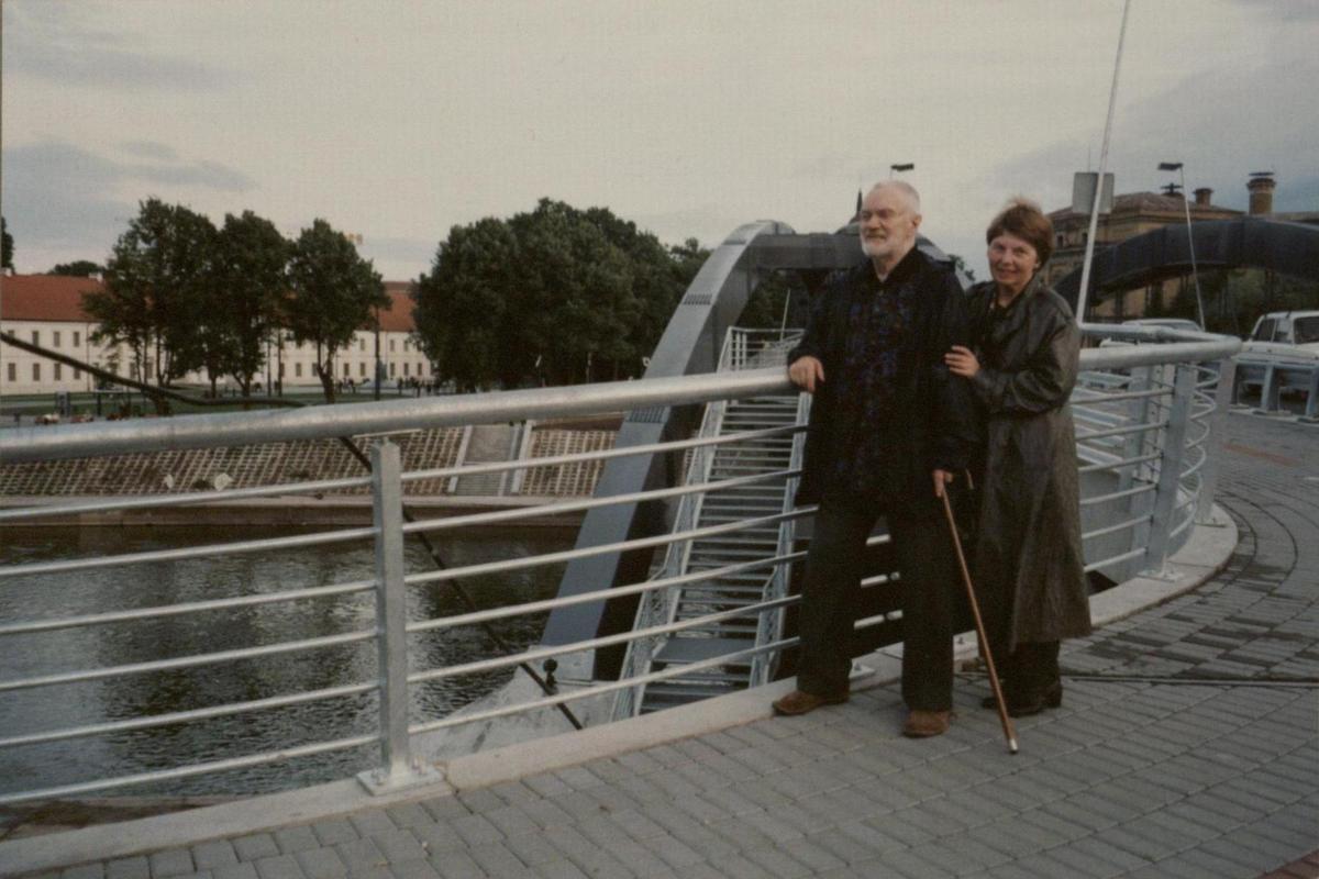 Rimas Geniušas su žmona Irena Geniušiene