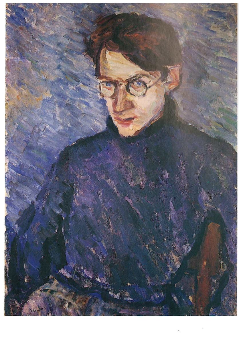 Chaimas Urisonas. Avromo Suckeverio portretas. Vilnius, 1936.