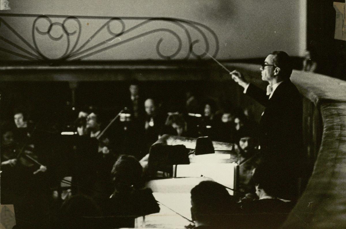 """P. Čaikovskio opera """"Eugenijus Oneginas"""" : studentų spektaklis. 1983 m . Leningradas"""